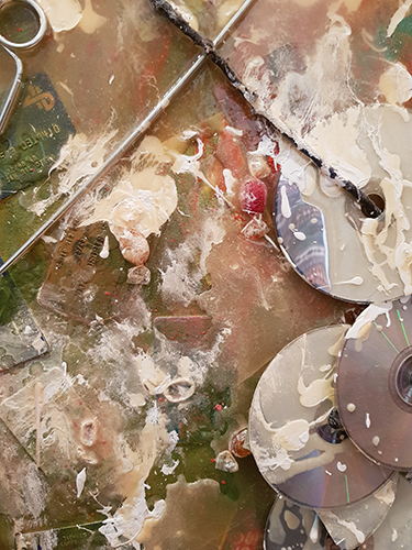 Cuadro de Juan Monente titulado 'Ansiedad' 3.