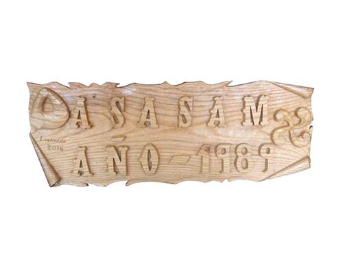 Talla de madera para Asasam