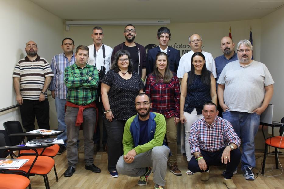Foto de familia del Comité Pro Salud Mental en Primera Persona (Octubre de 2016)