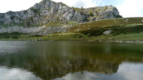 Foto de los Lagos de Covadonga realizada por Vanesa