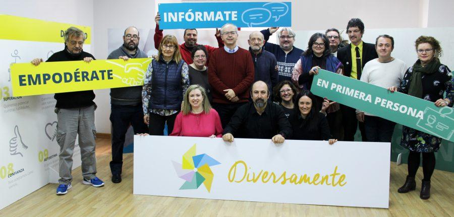 Foto de familia de Comité Pro Salud Mental en Primera Persona (Febrero de 2018)