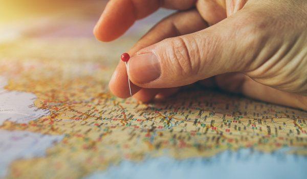 Marcando lugares en un mapa
