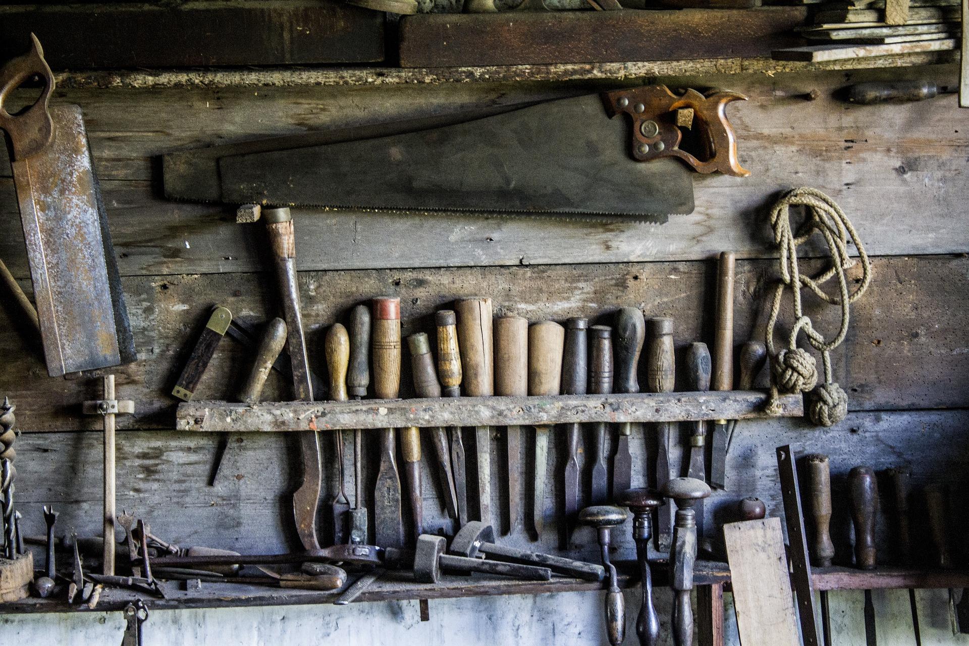 herramientas carpintería