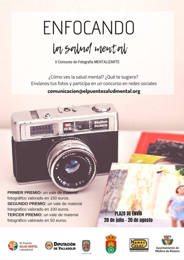 Cartel del concurso de fotografía.
