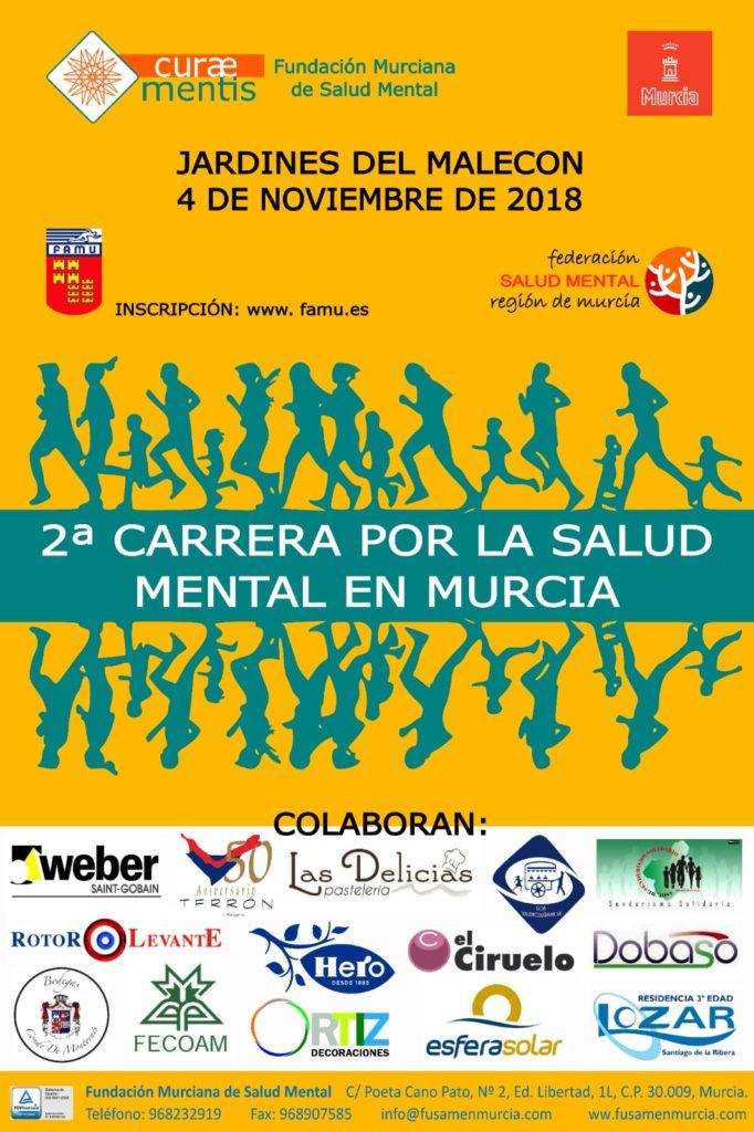 Cartel II Carrera Salud Mental Murcia