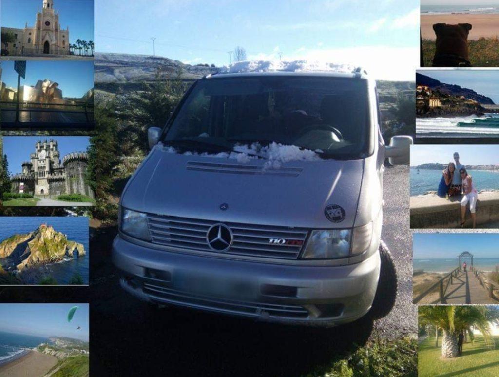 Imagen de la Vitoneta y de lugares donde ha estado